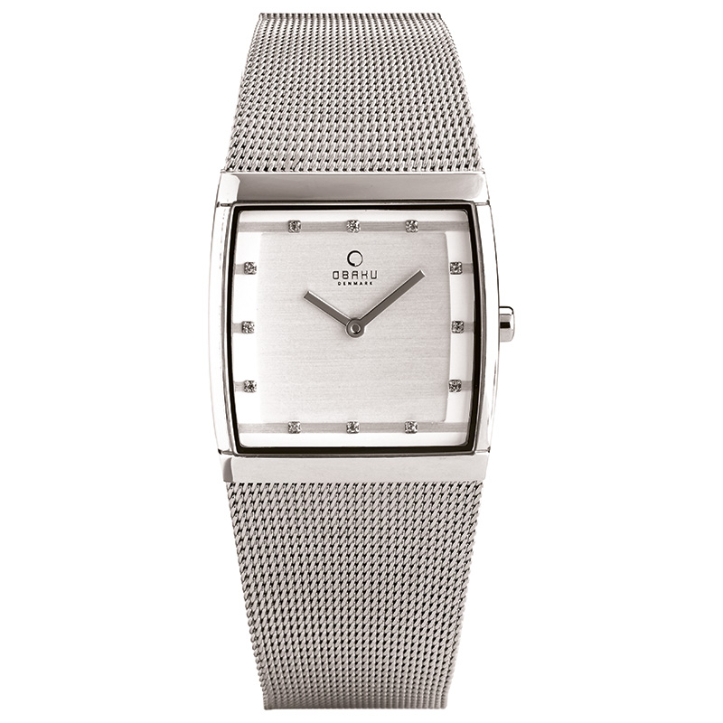 Obaku Women watch LUND LILLE - STEEL