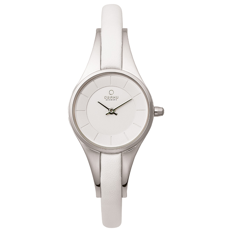 Obaku Women watch MORGEN - SNOW FRONT view
