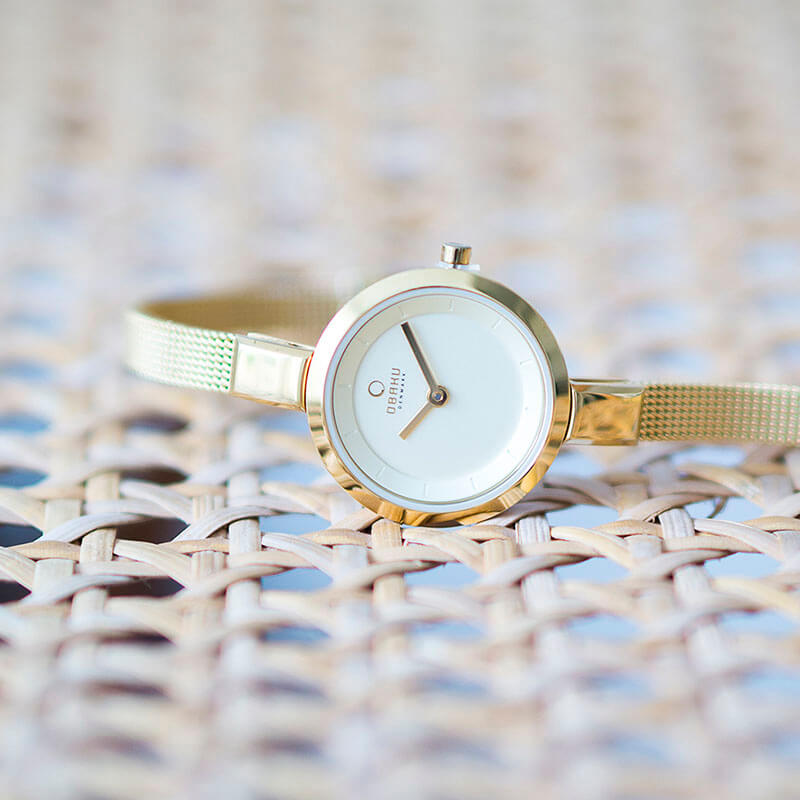 Obaku Women watch SIV - GOLD SM2 view