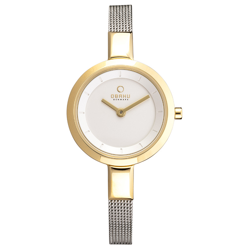 Obaku Women watch SIV - GOLD BI FRONT view