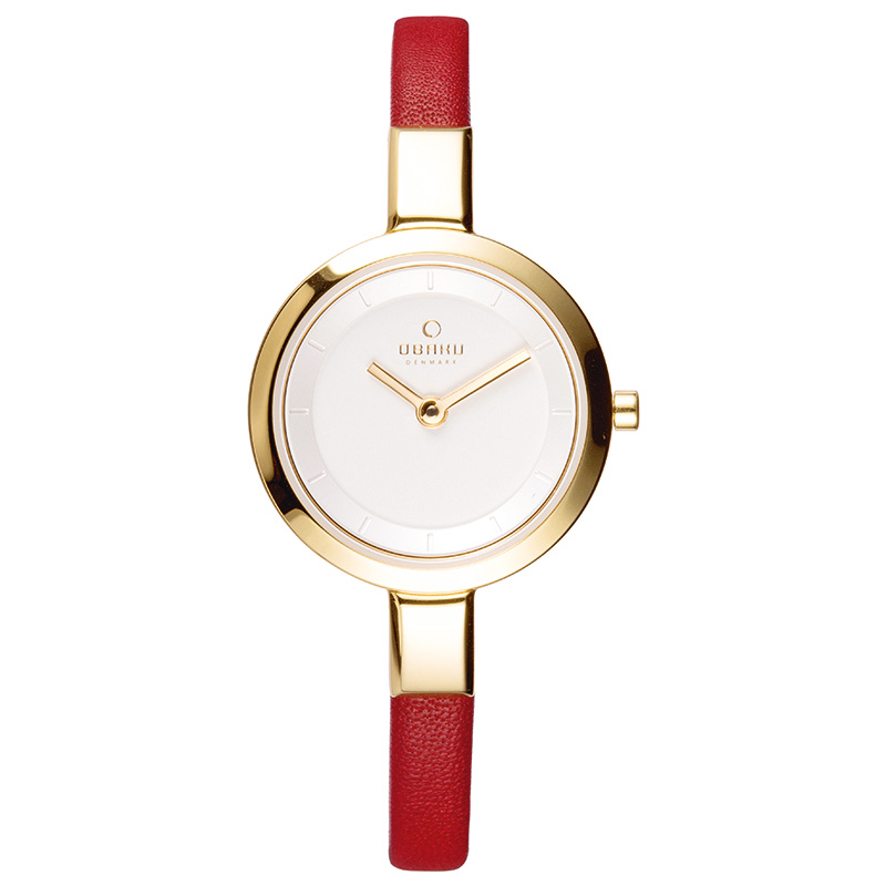 Obaku Women watch SIV - BERRY FRONT view