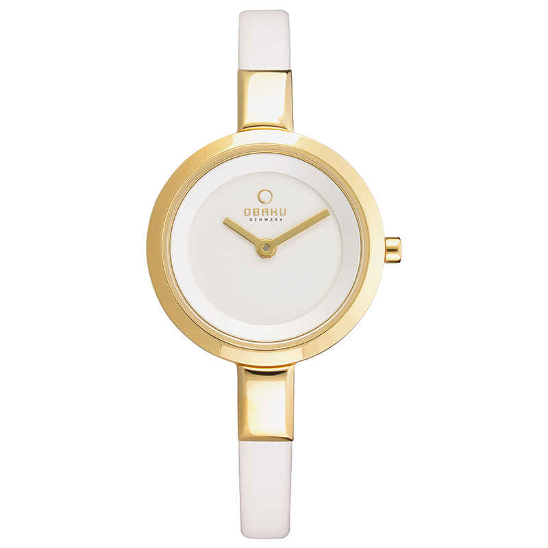 Obaku Women watch SIV - COTTON FRONT view