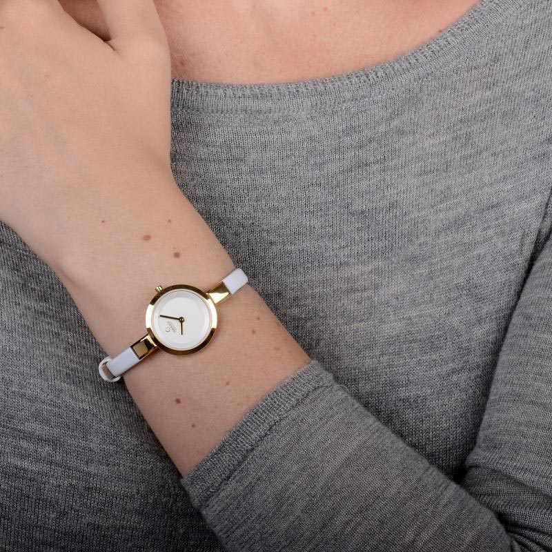 Obaku Women watch SIV - COTTON WRIST view