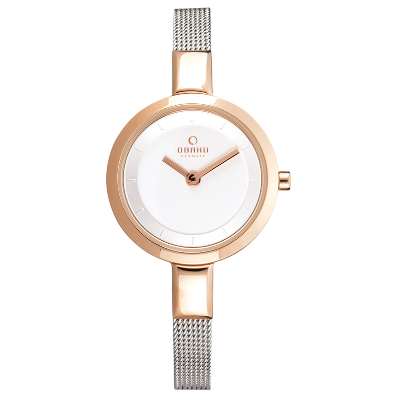 Obaku Women watch SIV - ROSE BI FRONT view