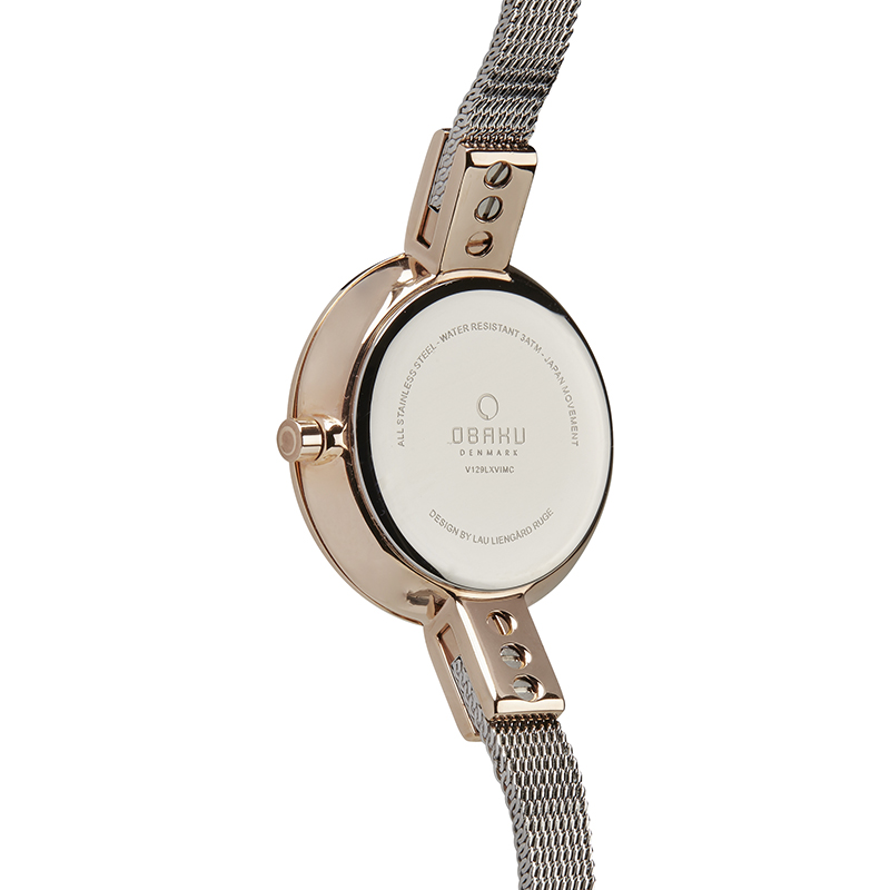 Obaku Women watch SIV - ROSE BI BACK view