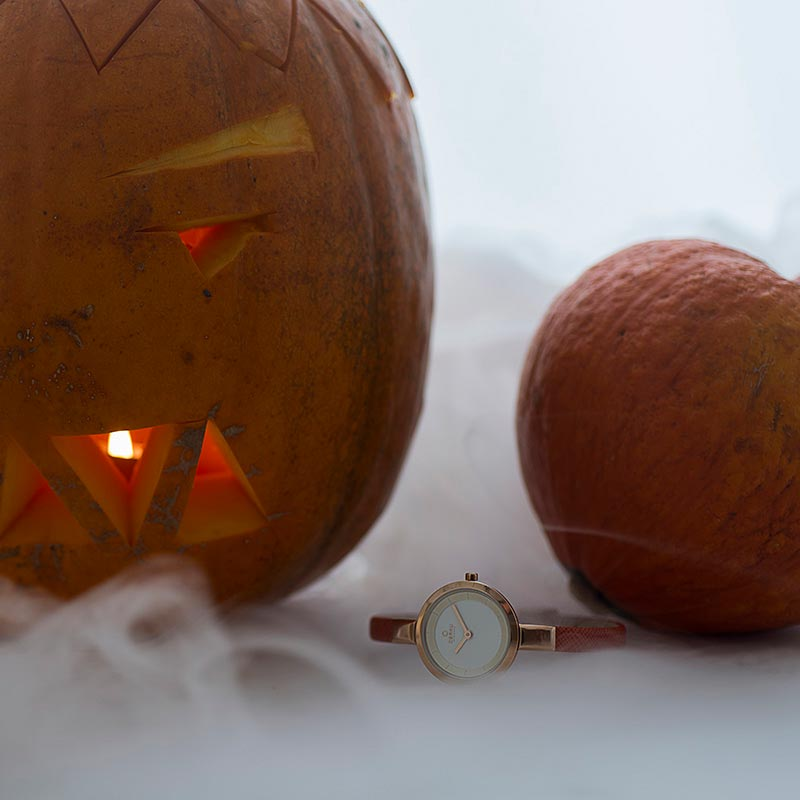 Obaku Women watch SIV - PUMPKIN SM2 view