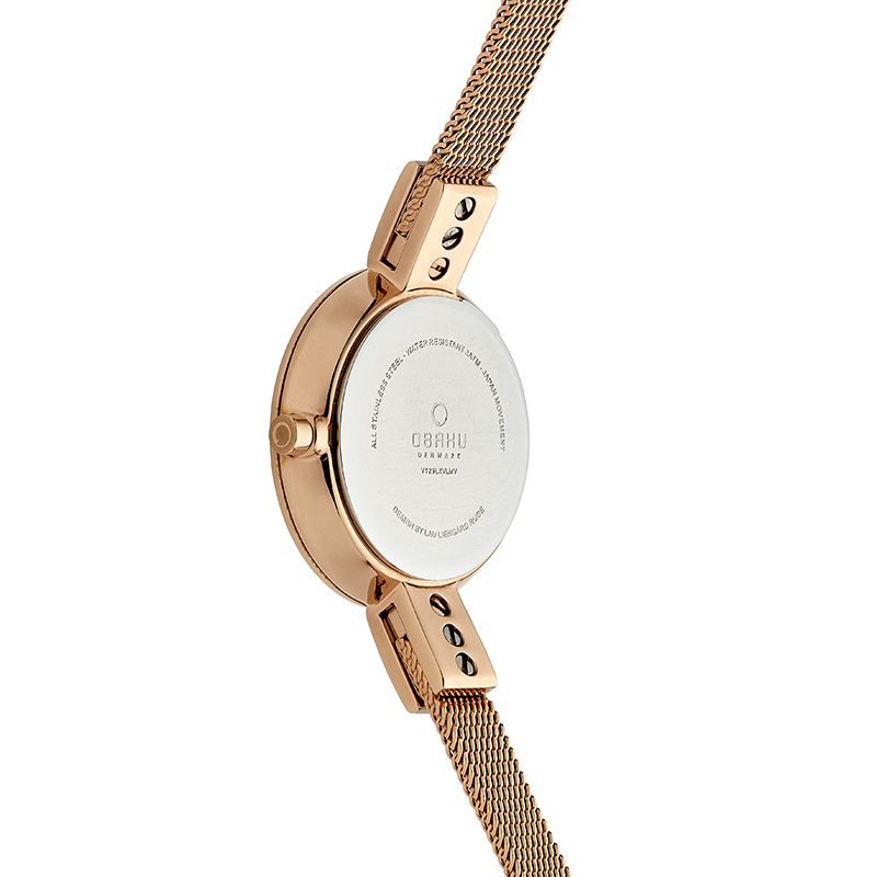 Obaku Women watch SIV - AZURE BACK view