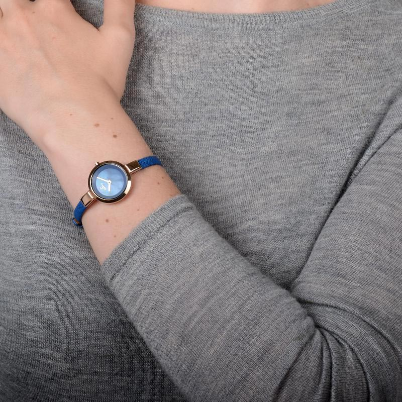 Obaku Women watch SIV - NAVY WRIST view