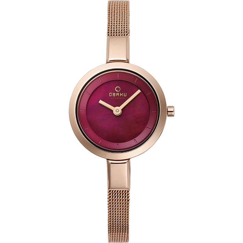 Obaku Women watch SIV - RUBY FRONT view