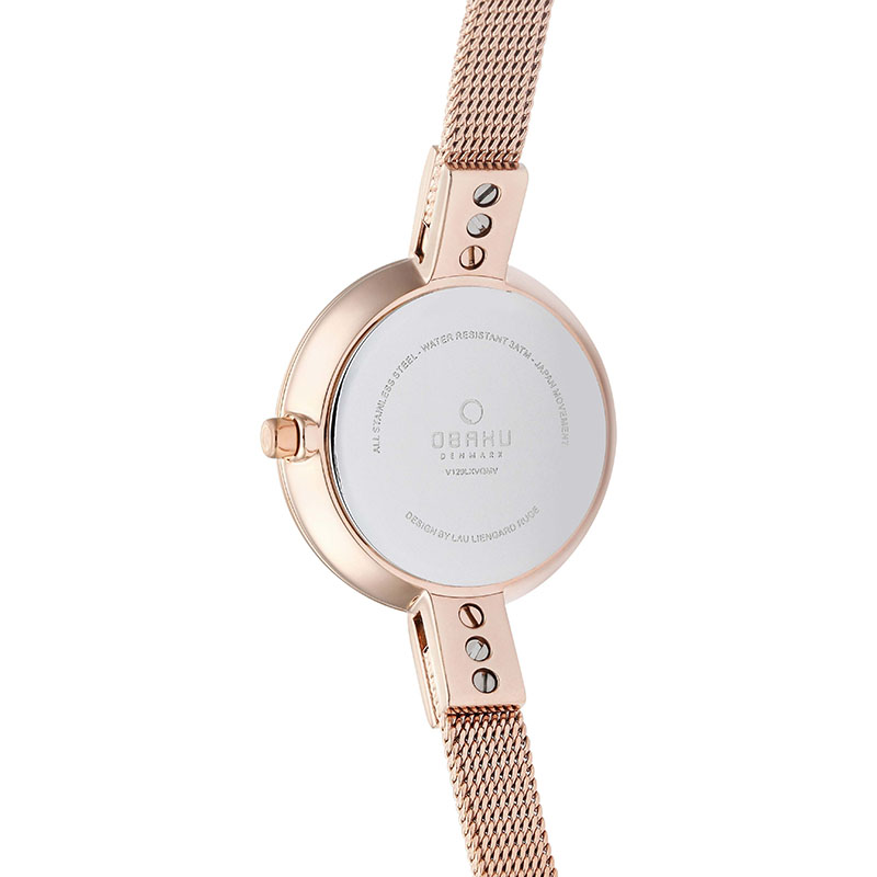 Obaku Women watch SIV - RUBY BACK view