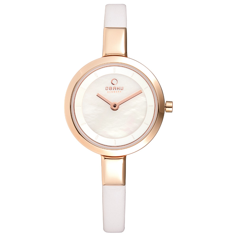 Obaku Women watch SIV - PEARL FRONT view