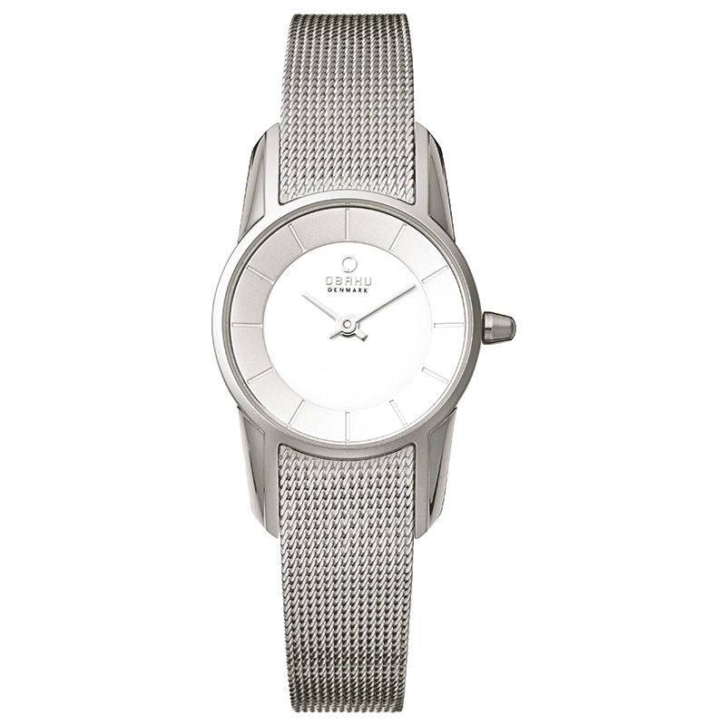 Obaku Women watch BLOMST - STEEL FRONT view