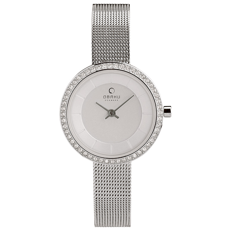 Obaku Women watch STILLE GLIMT - STEEL FRONT view