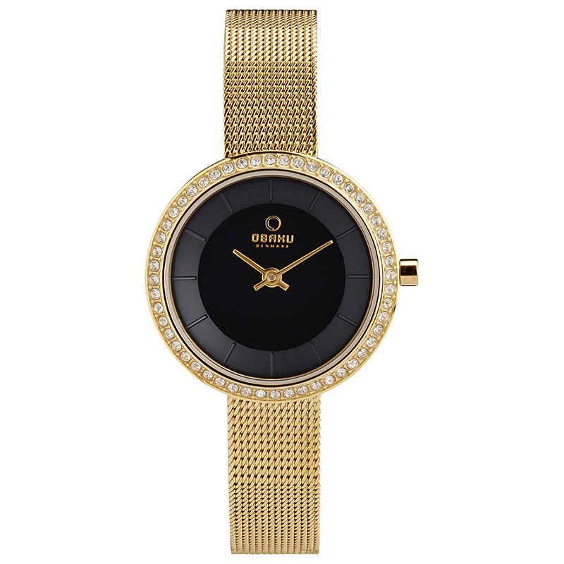 Obaku Women watch STILLE GLIMT - DIJON FRONT view