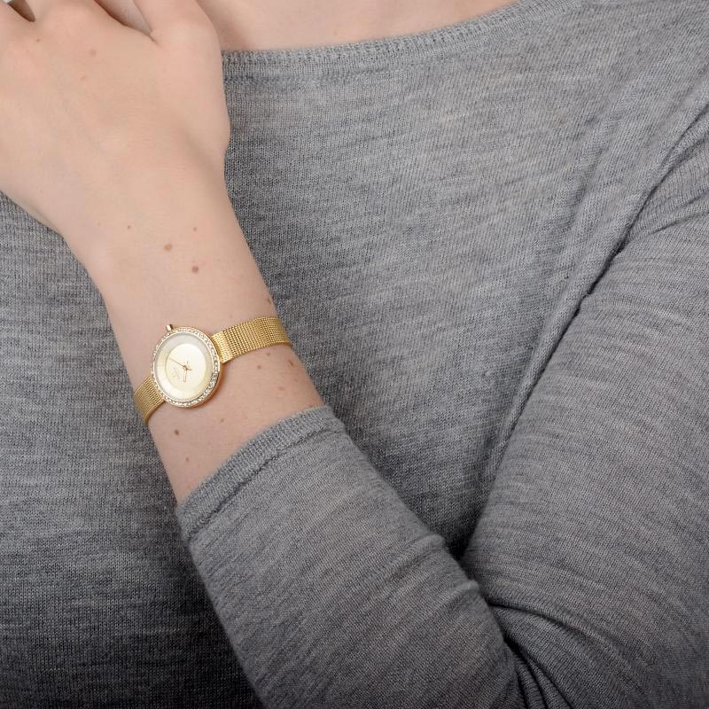 Obaku Women watch STILLE GLIMT - GOLD WRIST view
