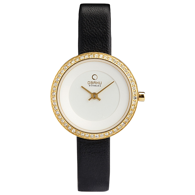 Obaku Women watch STILLE GLIMT - MOON FRONT view
