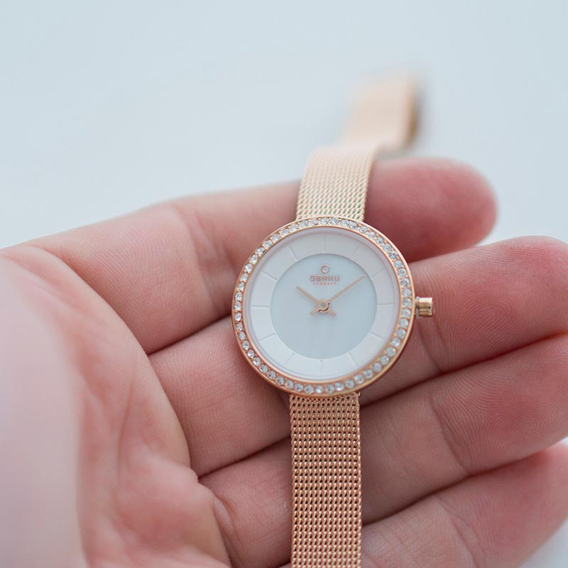 Obaku Women watch STILLE GLIMT - ROSE SM2 view