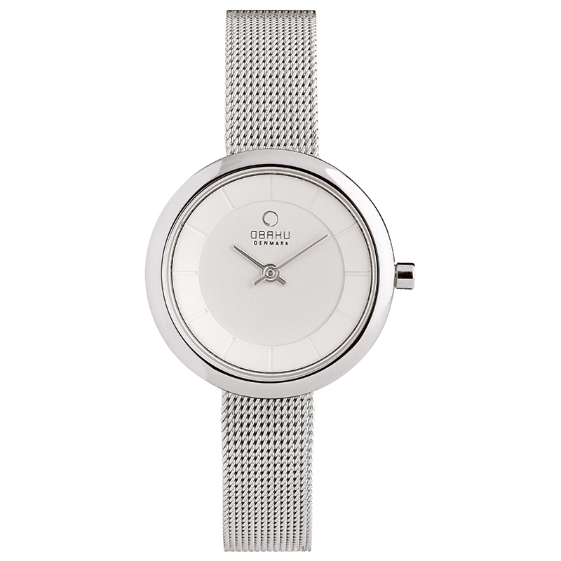 Obaku Women watch STILLE - STEEL FRONT view
