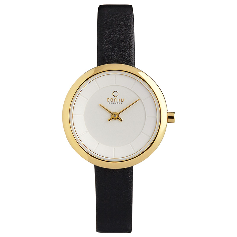 Obaku Women watch STILLE - MOON FRONT view