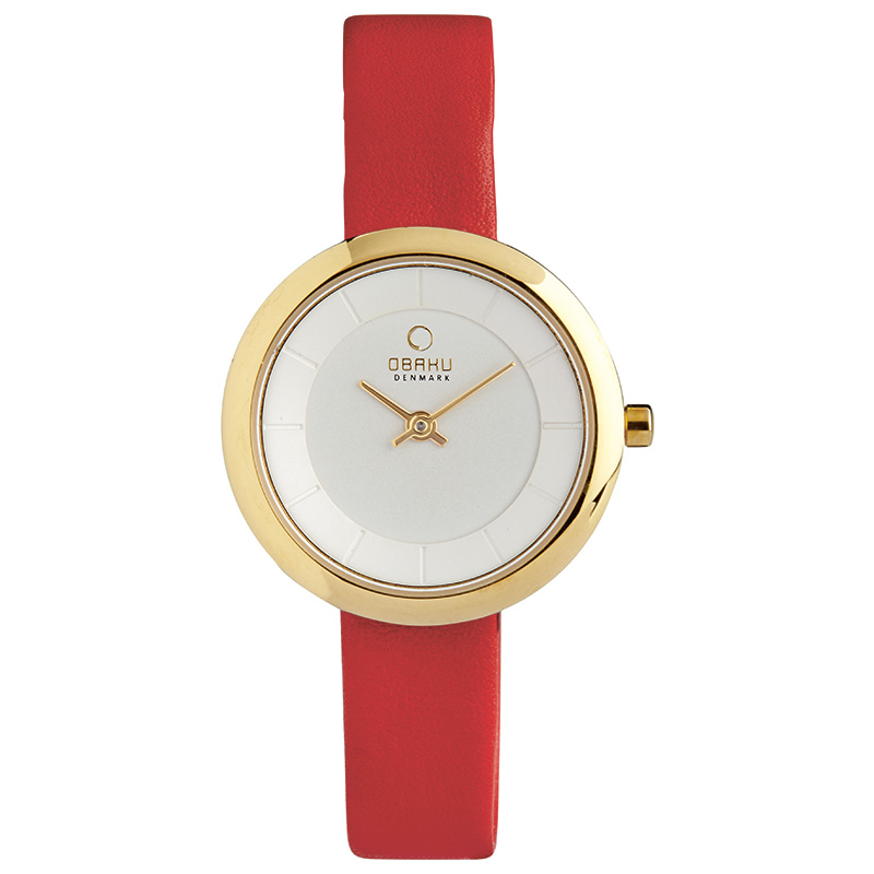 Obaku Women watch STILLE - BERRY FRONT view