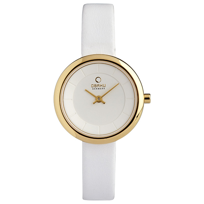 Obaku Women watch STILLE - COTTON FRONT view