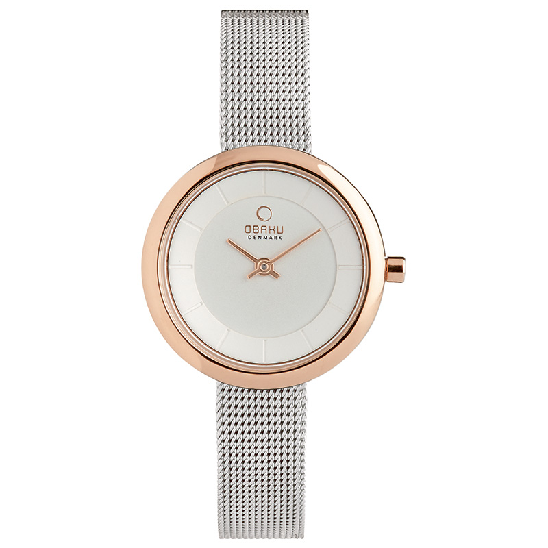 Obaku Women watch STILLE - ROSE BI FRONT view
