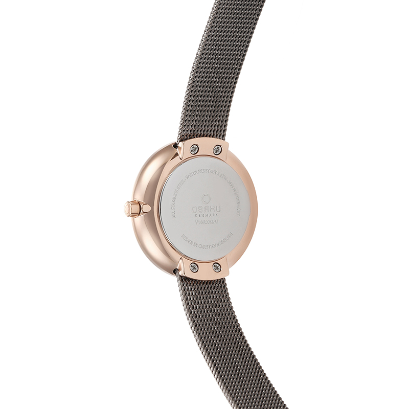 Obaku Women watch STILLE - GRANITE BACK view