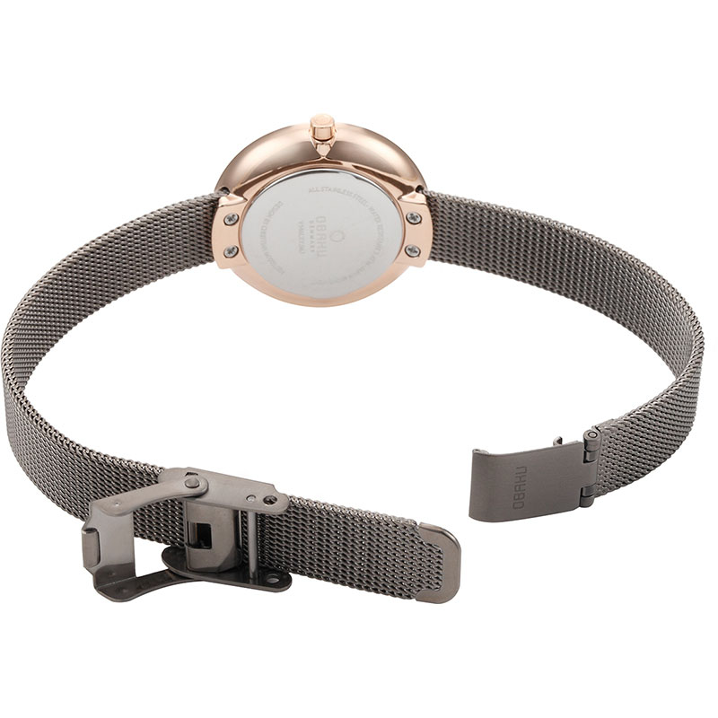 Obaku Women watch STILLE - GRANITE OPEN view