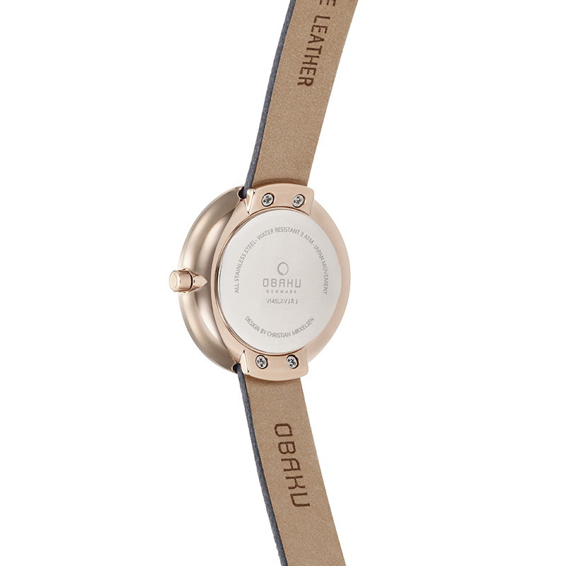 Obaku Women watch STILLE - PEBBLE BACK view