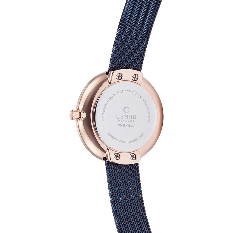 Obaku Women watch STILLE - OCEAN BACK view