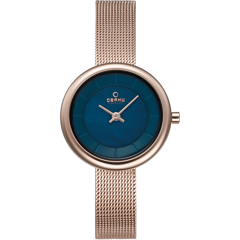 Obaku Women watch STILLE - AZURE FRONT view