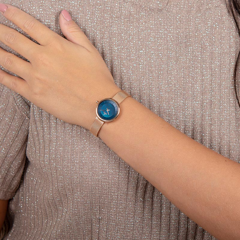 Obaku Women watch STILLE - AZURE WRIST view