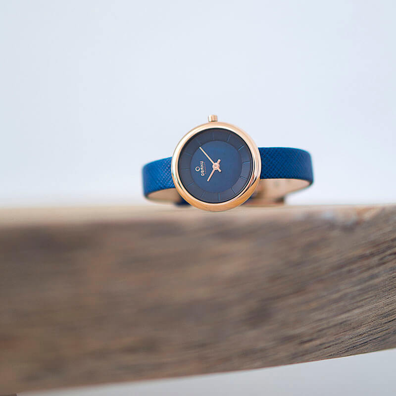 Obaku Women watch STILLE - NAVY SM2 view