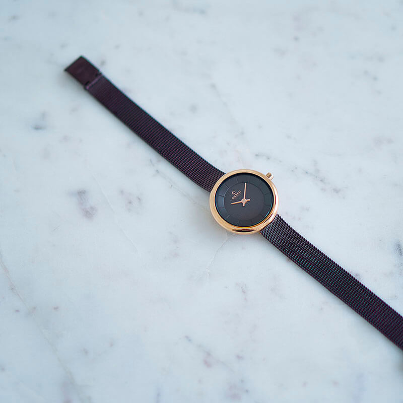Obaku Women watch STILLE - WALNUT SM2 view