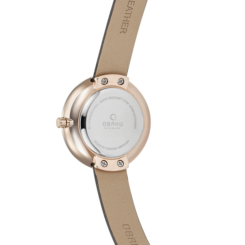 Obaku Women watch STILLE - HAZEL BACK view