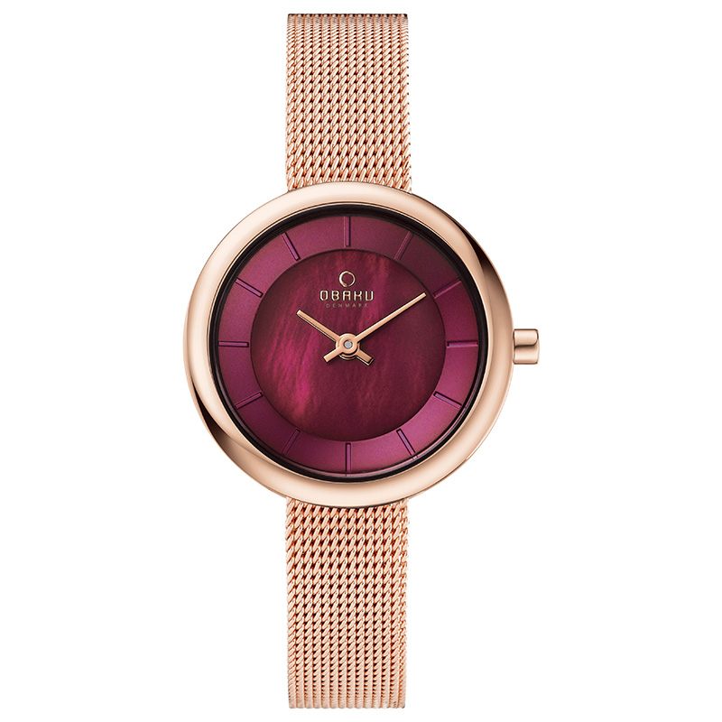 Obaku Women watch STILLE - RUBY