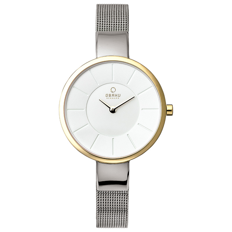 Obaku Women watch SOL - GOLD-BI FRONT view