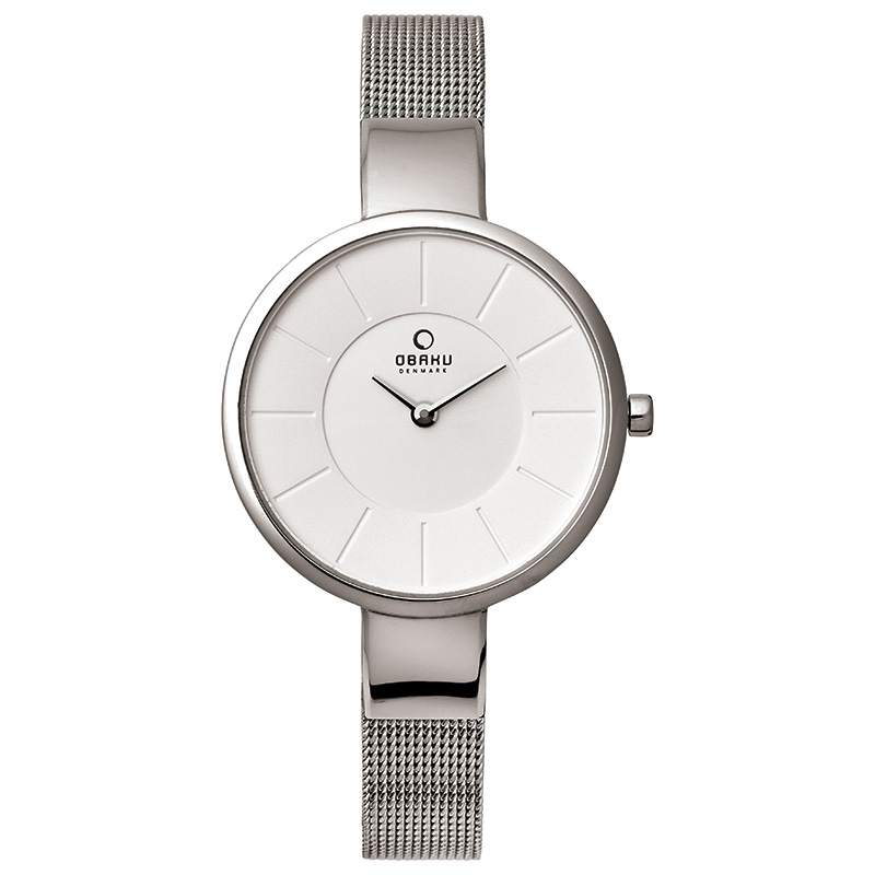 Obaku Women watch SOL - STEEL FRONT view