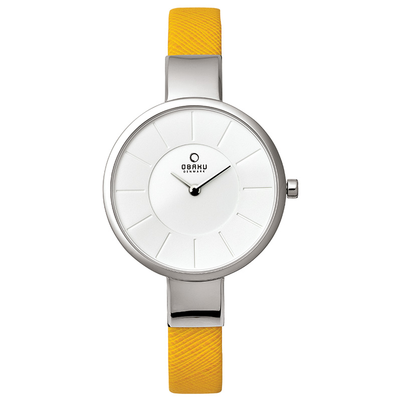 Obaku Women watch SOL - HONEY FRONT view