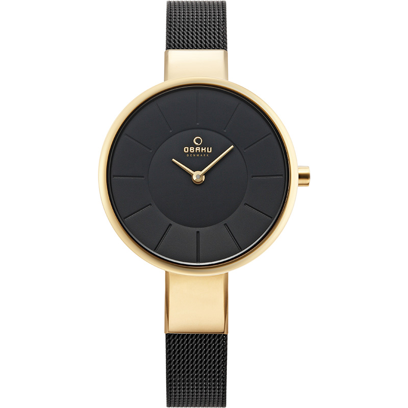 Obaku Women watch SOL - MEDALLION FRONT view