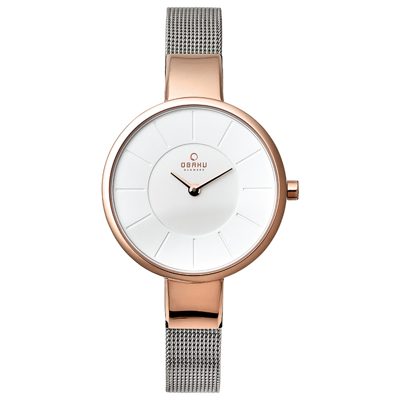 Obaku Women watch SOL - ROSE BI FRONT view