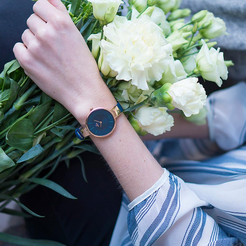 Obaku Women watch SOL - NAVY SM2 view