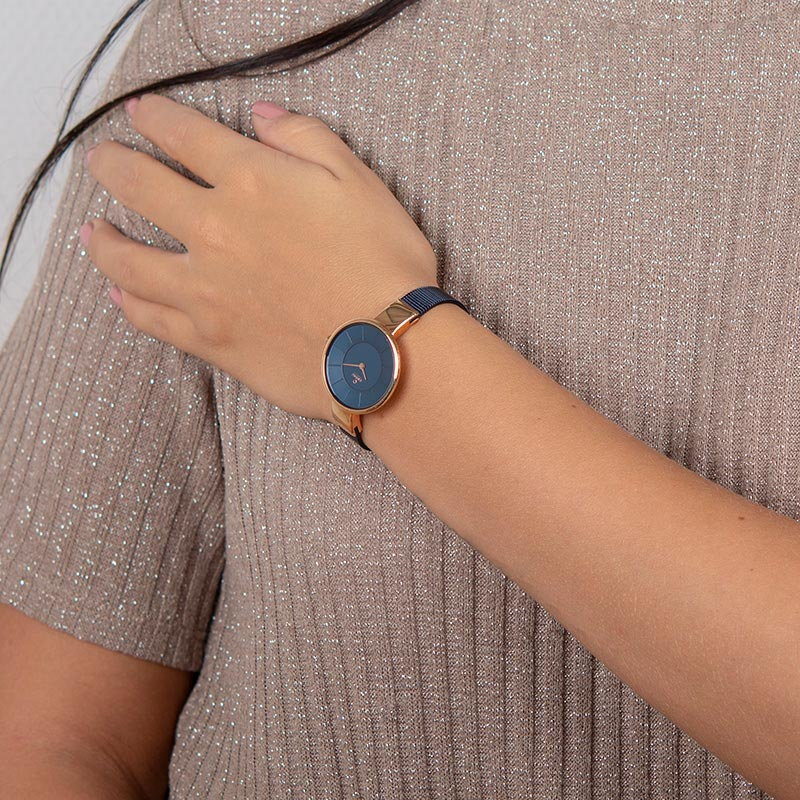 Obaku Women watch SOL - NAVY WRIST view