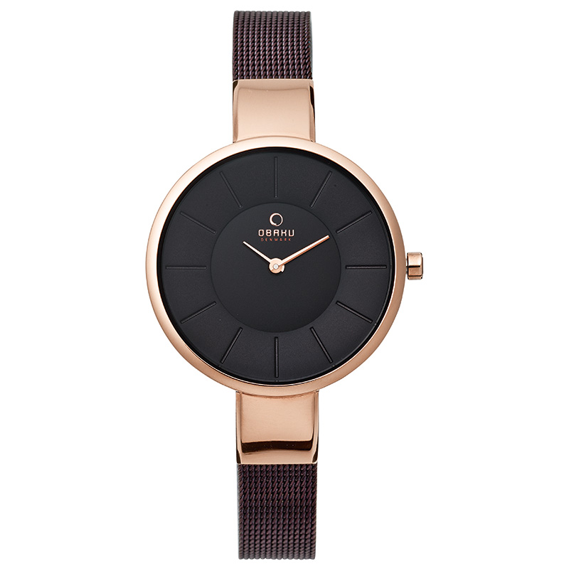 Obaku Women watch SOL - WALNUT