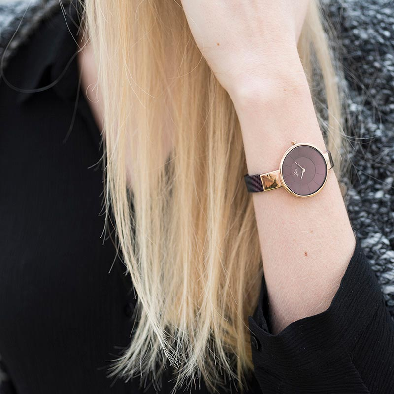 Obaku Women watch SOL - WALNUT SM3 view