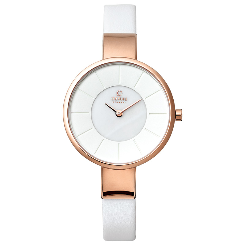 Obaku Women watch SOL - PEARL FRONT view