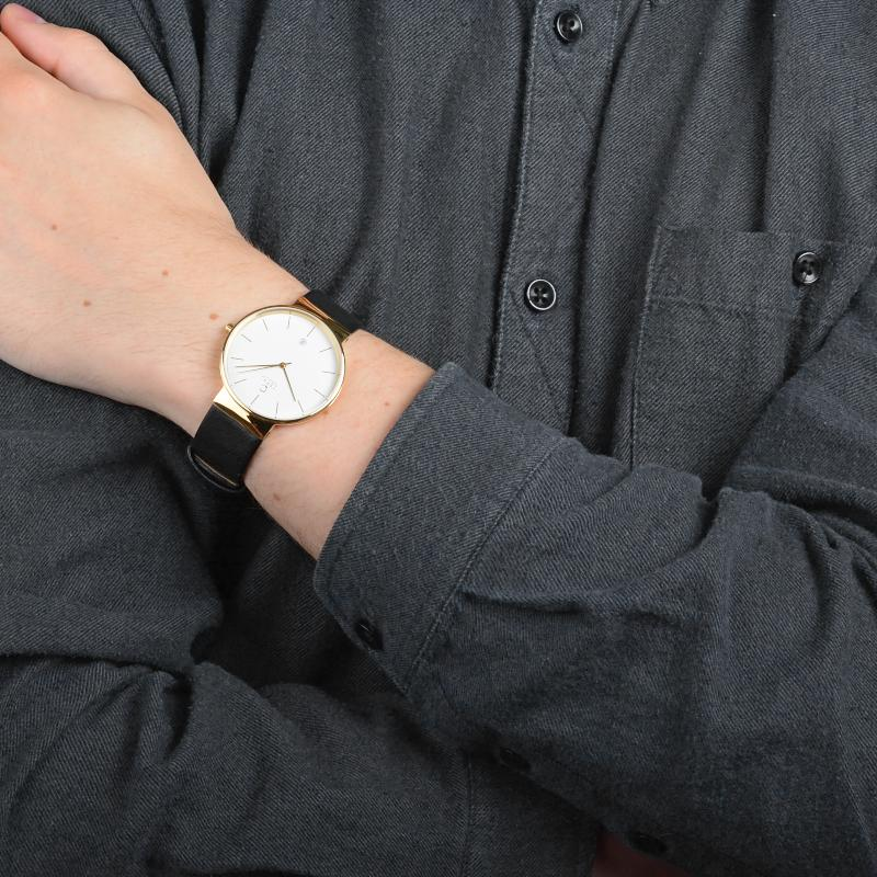 Obaku Men watch KLAR - MOON SM1 view