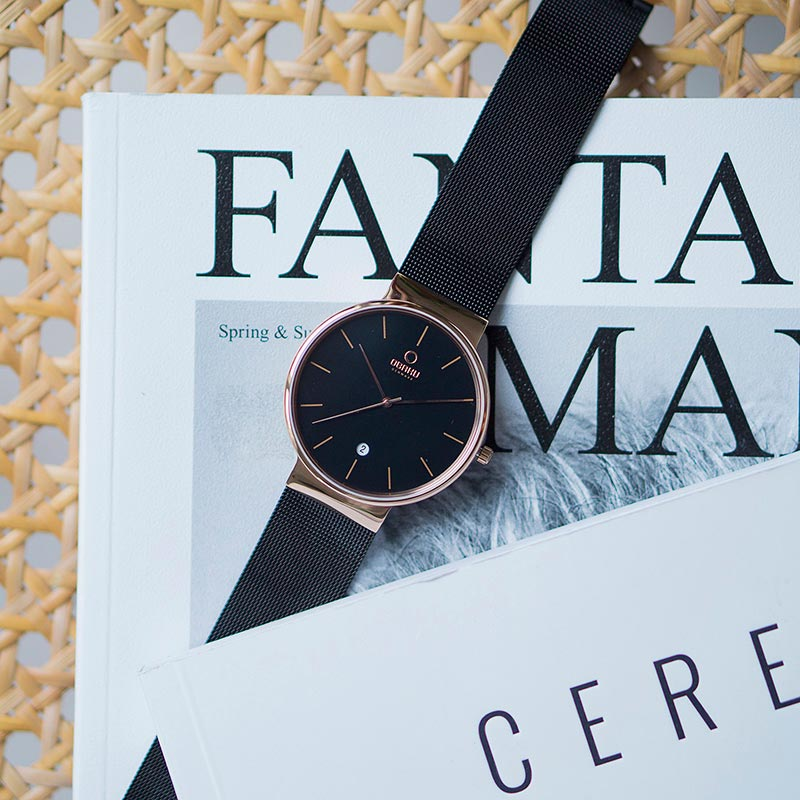 Obaku Men watch KLAR - NIGHT SM1 view