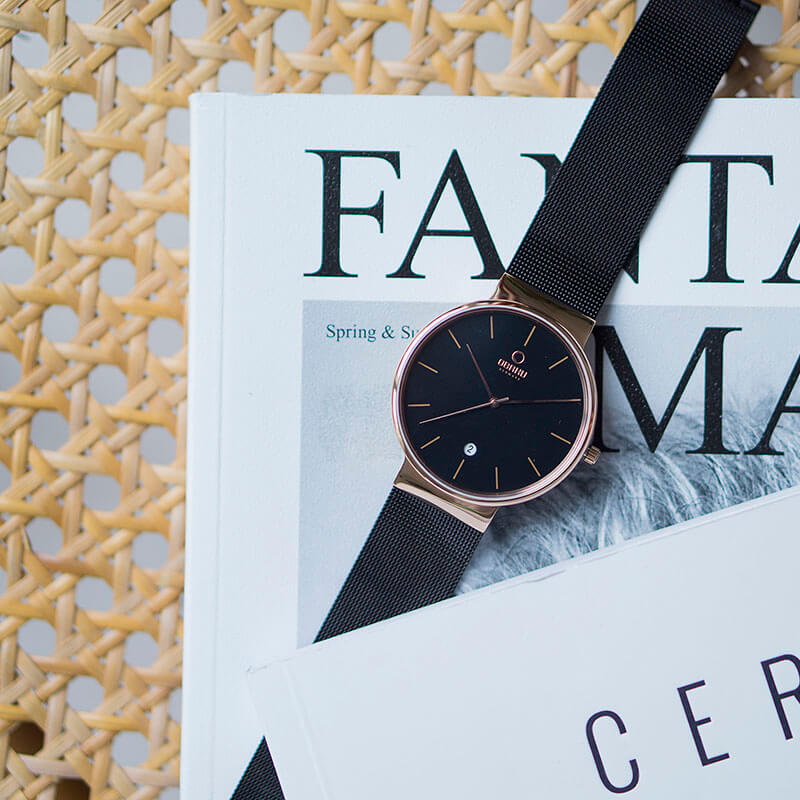 Obaku Men watch KLAR - NIGHT SM2 view