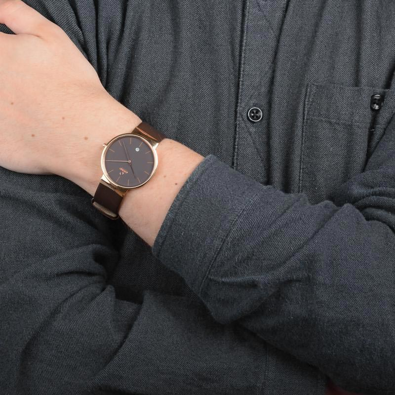 Obaku Men watch KLAR - HAZEL WRIST view